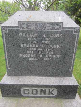 CONK, WILLIAM H. - Monmouth County, New Jersey | WILLIAM H. CONK - New Jersey Gravestone Photos