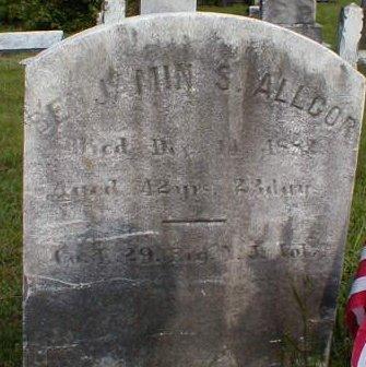 ALLGOR, BENJAMIN S. - Monmouth County, New Jersey | BENJAMIN S. ALLGOR - New Jersey Gravestone Photos