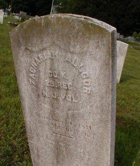 ALLGOR, ZACHARAH - Monmouth County, New Jersey   ZACHARAH ALLGOR - New Jersey Gravestone Photos