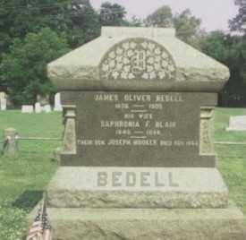 BEDELL, JAMES O. - Monmouth County, New Jersey | JAMES O. BEDELL - New Jersey Gravestone Photos