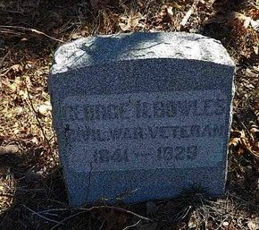 BOWLES AKA BOYLES, GEORGE H. - Monmouth County, New Jersey | GEORGE H. BOWLES AKA BOYLES - New Jersey Gravestone Photos