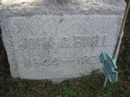 BRILL, JOHN C. - Monmouth County, New Jersey   JOHN C. BRILL - New Jersey Gravestone Photos