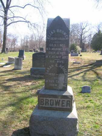 BROWER, ELIAS - Monmouth County, New Jersey | ELIAS BROWER - New Jersey Gravestone Photos