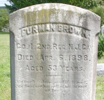 BROWN, FURMAN - Monmouth County, New Jersey | FURMAN BROWN - New Jersey Gravestone Photos