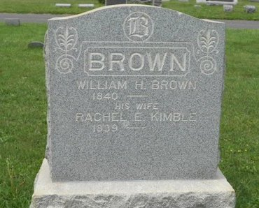 BROWN, WILLIAM H. - Monmouth County, New Jersey | WILLIAM H. BROWN - New Jersey Gravestone Photos