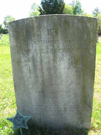 CHAPMAN, ALEXANDER - Monmouth County, New Jersey | ALEXANDER CHAPMAN - New Jersey Gravestone Photos
