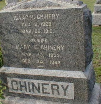 CHINERY, ISAAC H. - Monmouth County, New Jersey | ISAAC H. CHINERY - New Jersey Gravestone Photos