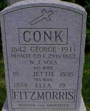 CONK, GEORGE - Monmouth County, New Jersey | GEORGE CONK - New Jersey Gravestone Photos