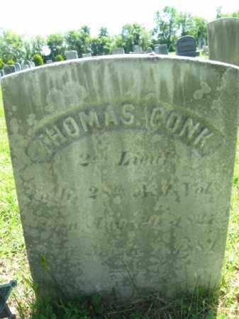 CONK, THOMAS - Monmouth County, New Jersey   THOMAS CONK - New Jersey Gravestone Photos