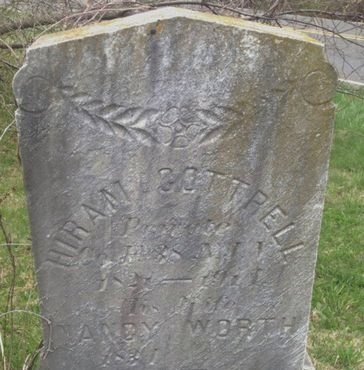 COTTRELL, HIRAM - Monmouth County, New Jersey | HIRAM COTTRELL - New Jersey Gravestone Photos