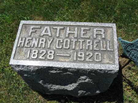 COTTRELL, HENRY - Monmouth County, New Jersey | HENRY COTTRELL - New Jersey Gravestone Photos