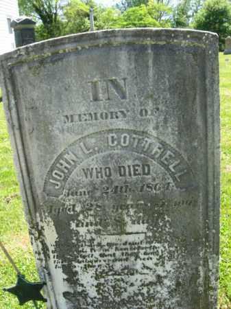 COTTRELL, JOHN L. - Monmouth County, New Jersey   JOHN L. COTTRELL - New Jersey Gravestone Photos