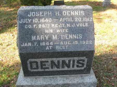 DENNIS, JOSEPH H. - Monmouth County, New Jersey | JOSEPH H. DENNIS - New Jersey Gravestone Photos