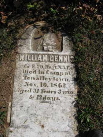 DENNIS, WILLIAM - Monmouth County, New Jersey | WILLIAM DENNIS - New Jersey Gravestone Photos