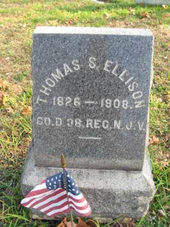 ELLISON, THOMAS S. - Monmouth County, New Jersey | THOMAS S. ELLISON - New Jersey Gravestone Photos