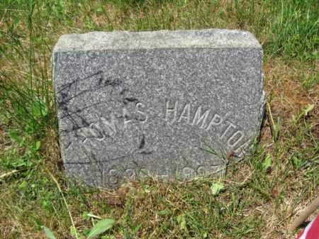 HAMPTON, THOMAS - Monmouth County, New Jersey | THOMAS HAMPTON - New Jersey Gravestone Photos
