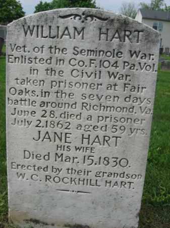 HART, WILLIAM - Monmouth County, New Jersey | WILLIAM HART - New Jersey Gravestone Photos