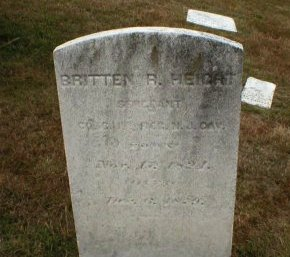 HEIGHT, BRITTEN R. - Monmouth County, New Jersey | BRITTEN R. HEIGHT - New Jersey Gravestone Photos