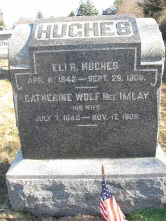 HUGHES, ELI R. - Monmouth County, New Jersey | ELI R. HUGHES - New Jersey Gravestone Photos