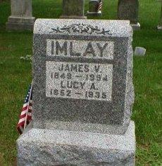 IMLAY, JAMES V. - Monmouth County, New Jersey | JAMES V. IMLAY - New Jersey Gravestone Photos