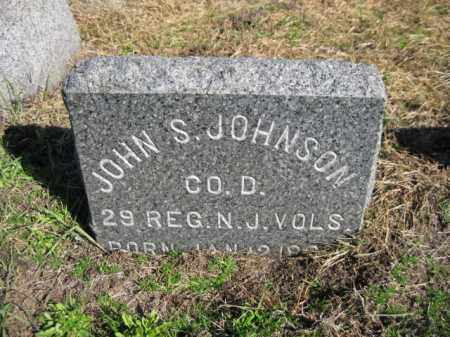 JOHNSON, JOHN S. - Monmouth County, New Jersey | JOHN S. JOHNSON - New Jersey Gravestone Photos