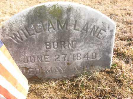 LANE, WILLIAM - Monmouth County, New Jersey | WILLIAM LANE - New Jersey Gravestone Photos