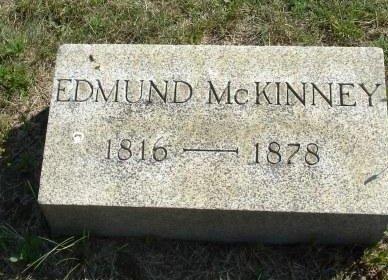 MCKINNEY, EDMUND - Monmouth County, New Jersey | EDMUND MCKINNEY - New Jersey Gravestone Photos
