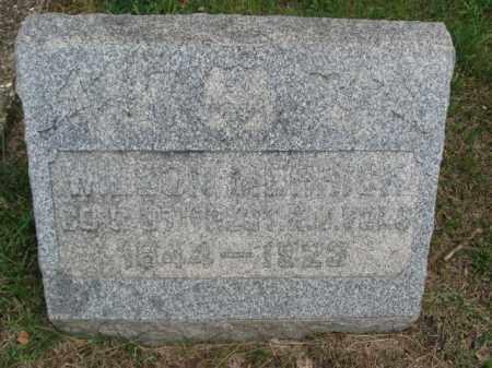 MERRICK, WILSON - Monmouth County, New Jersey | WILSON MERRICK - New Jersey Gravestone Photos
