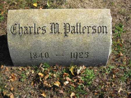 PATTERSON, CHARLES M. - Monmouth County, New Jersey | CHARLES M. PATTERSON - New Jersey Gravestone Photos