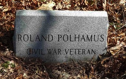 POLHAMUS, ROLAND - Monmouth County, New Jersey | ROLAND POLHAMUS - New Jersey Gravestone Photos