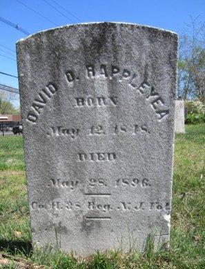 RAPPLEYEA, DAVID O. - Monmouth County, New Jersey | DAVID O. RAPPLEYEA - New Jersey Gravestone Photos