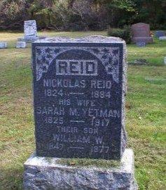 REID, NICHOLAS - Monmouth County, New Jersey   NICHOLAS REID - New Jersey Gravestone Photos