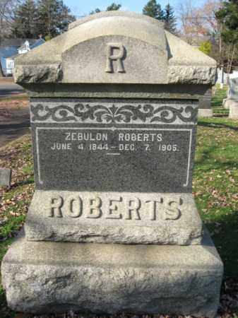 ROBERTS (ROBERT), ZEBULON - Monmouth County, New Jersey | ZEBULON ROBERTS (ROBERT) - New Jersey Gravestone Photos