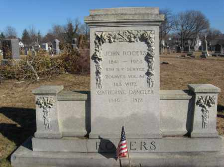 ROGERS, JOHN - Monmouth County, New Jersey | JOHN ROGERS - New Jersey Gravestone Photos