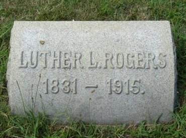 ROGERS, LUTHER L. - Monmouth County, New Jersey | LUTHER L. ROGERS - New Jersey Gravestone Photos
