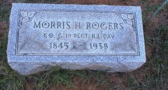 ROGERS, MORRIS H. - Monmouth County, New Jersey   MORRIS H. ROGERS - New Jersey Gravestone Photos