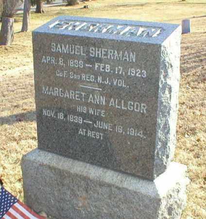 SHERMAN, SAMUEL - Monmouth County, New Jersey | SAMUEL SHERMAN - New Jersey Gravestone Photos
