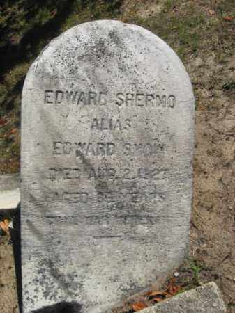 SHERMO (SNOW), EDWARD - Monmouth County, New Jersey | EDWARD SHERMO (SNOW) - New Jersey Gravestone Photos