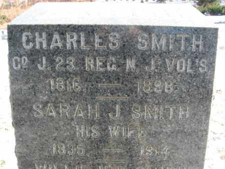 SMITH, CHARLES - Monmouth County, New Jersey | CHARLES SMITH - New Jersey Gravestone Photos