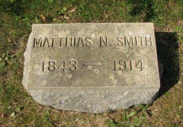 SMITH, MATTHIAS N. - Monmouth County, New Jersey | MATTHIAS N. SMITH - New Jersey Gravestone Photos