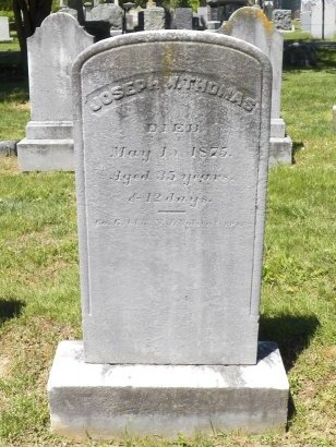 THOMAS, JOSEPH W. - Monmouth County, New Jersey   JOSEPH W. THOMAS - New Jersey Gravestone Photos