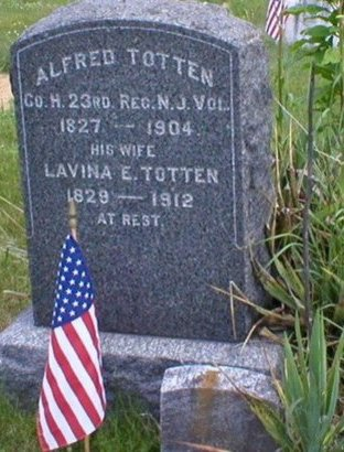 TOTTEN, ALFRED - Monmouth County, New Jersey | ALFRED TOTTEN - New Jersey Gravestone Photos