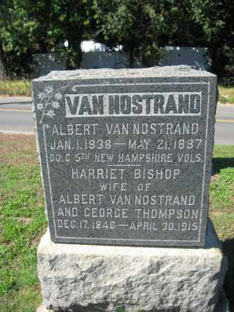 VAN NOSTRAND, ALBERT - Monmouth County, New Jersey | ALBERT VAN NOSTRAND - New Jersey Gravestone Photos