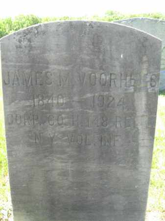 VOORHEES (VORHEES), JAMES M. - Monmouth County, New Jersey | JAMES M. VOORHEES (VORHEES) - New Jersey Gravestone Photos