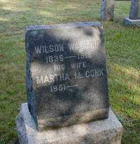 WALLING, WILSON - Monmouth County, New Jersey | WILSON WALLING - New Jersey Gravestone Photos
