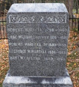 WARDELL, GEORGE  W. - Monmouth County, New Jersey | GEORGE  W. WARDELL - New Jersey Gravestone Photos