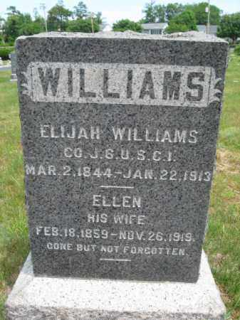 WILLIAMS, ELIJAH - Monmouth County, New Jersey | ELIJAH WILLIAMS - New Jersey Gravestone Photos