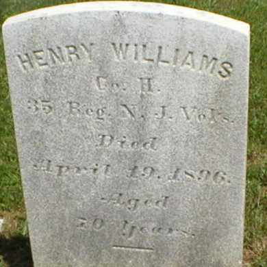 WILLIAMS, HENRY - Monmouth County, New Jersey | HENRY WILLIAMS - New Jersey Gravestone Photos