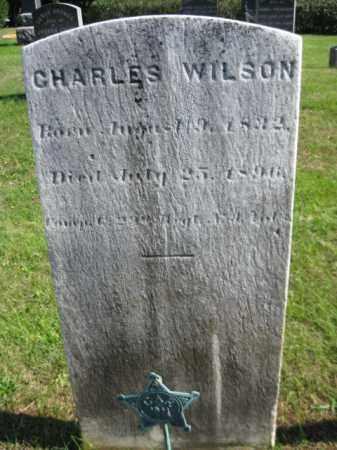 WILSON, CHARLES - Monmouth County, New Jersey | CHARLES WILSON - New Jersey Gravestone Photos