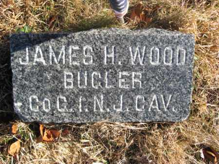 WOOD, JAMES H. - Monmouth County, New Jersey | JAMES H. WOOD - New Jersey Gravestone Photos